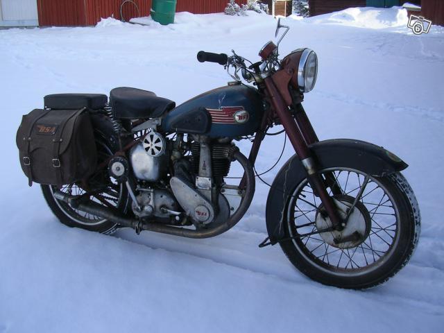 BSA B33 1953
