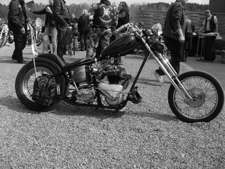 Triumph-chopper
