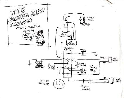 shovelhead wiring diagram shovelhead free engine image for user manual