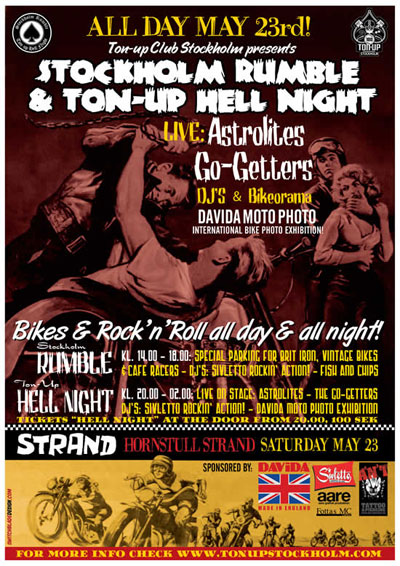 Stockholm Rumble & TonUp Hell Night