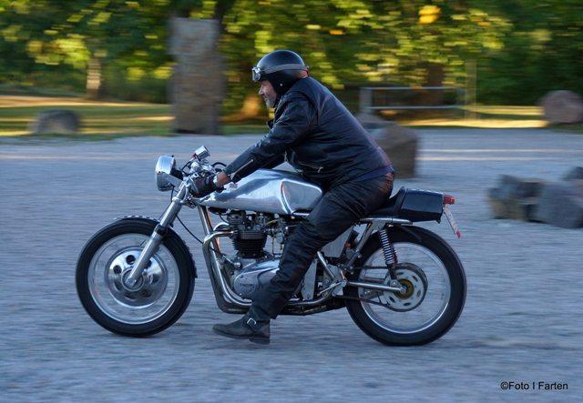 Vintage Triumph Rickman Racer Foto: Annika Löfström