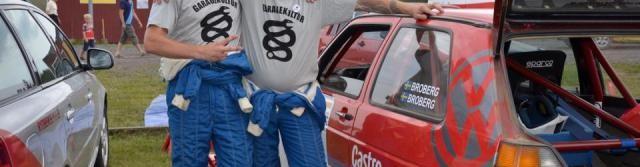 Broberg Brothers i rallyspåret