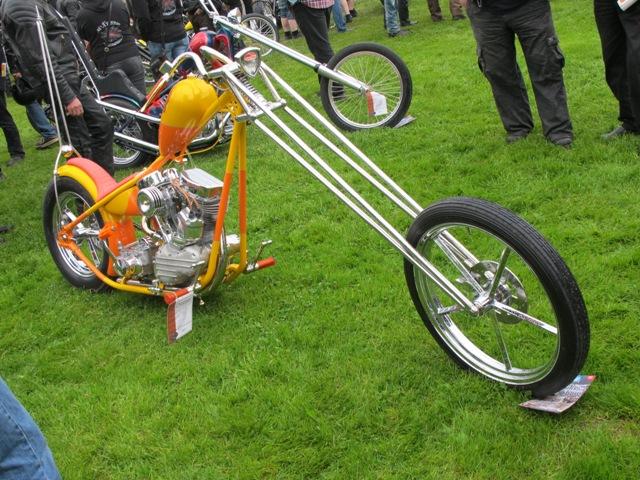 Årest stora vinnare i Norrtälje Custom Bike Show 2013 blev Arto Varis från Helsingfors. Etta i H-D Chopper, Bästa Lack och vann dessutom AMD-Juryns Val med denna Panhead.
