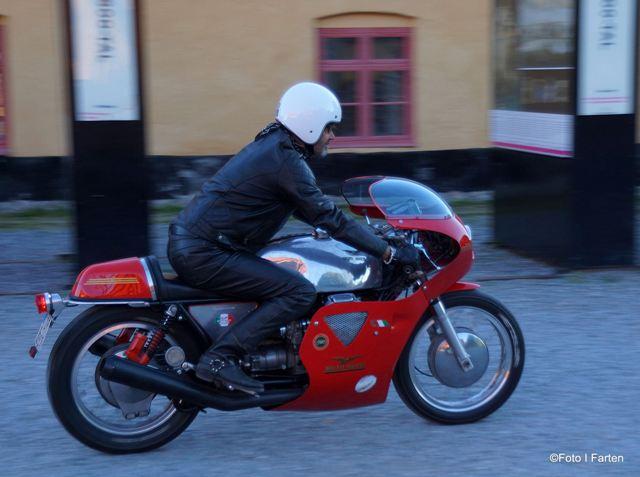Vintage Guzzi Racer Foto: Annika Löfström