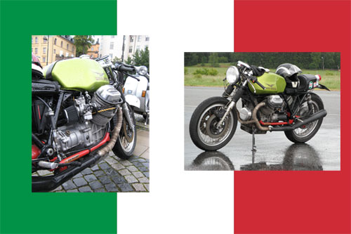Moto Guzzi caféracer