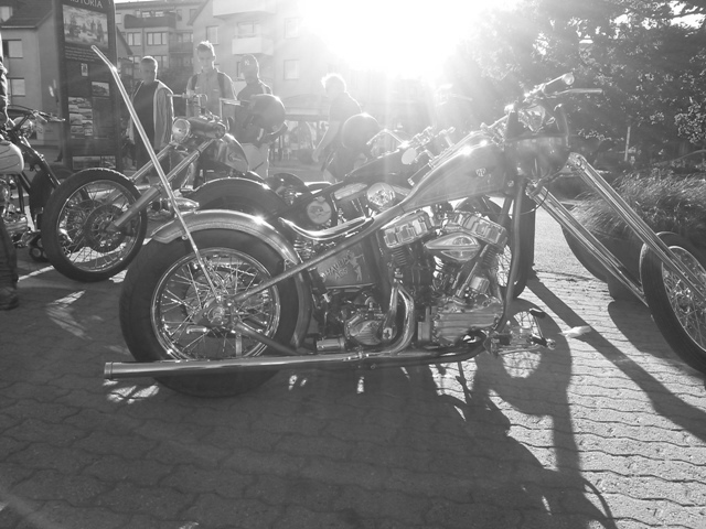 panhead-sunset